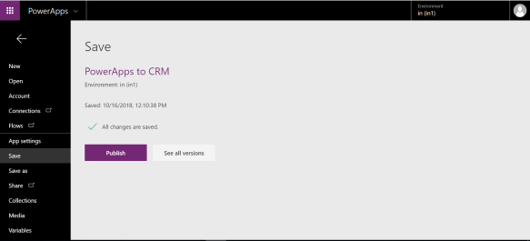 PowerApps with Dynamics CRM | Invent CRM